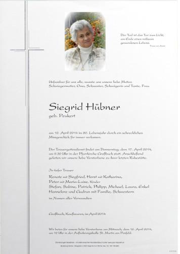 Siegrid Hübner