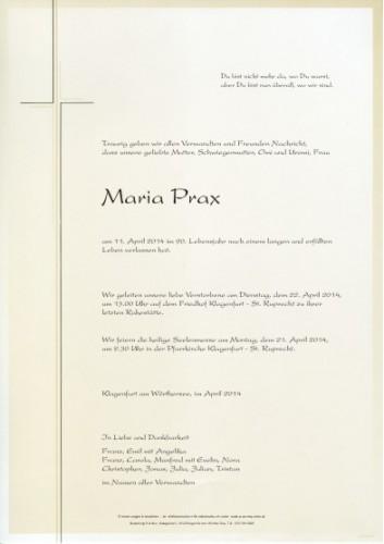 Maria Prax