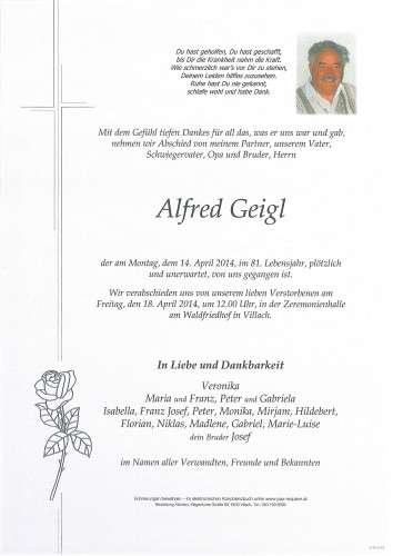 Alfred Geigl