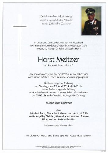 Horst Meltzer