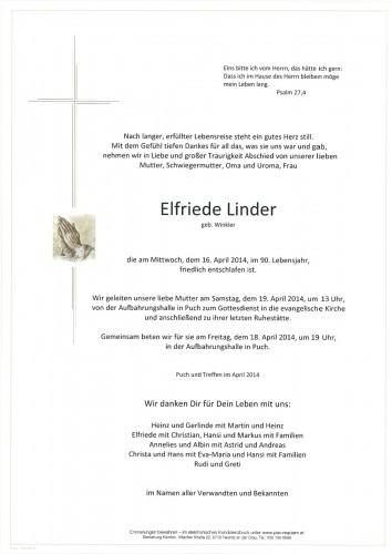 Elfriede Linder
