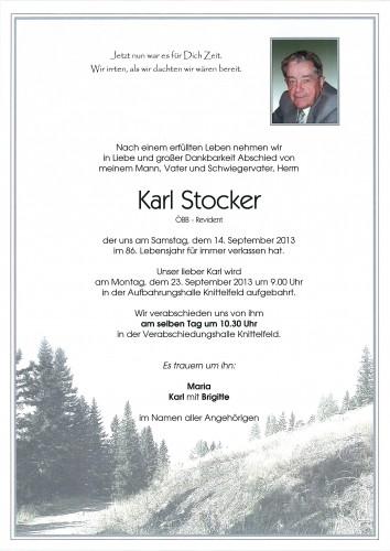 Karl Stocker