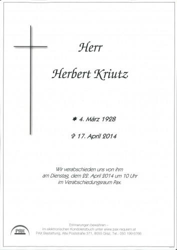 Herbert Kriutz