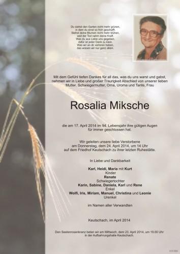 Rosalia Miksche