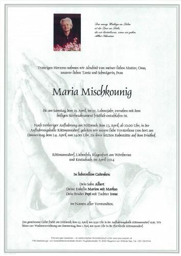 Maria Mischkounig
