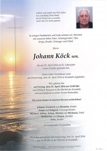 Johann Köck sen.