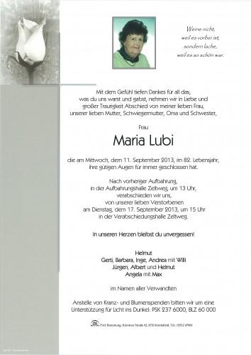 Maria Lubi