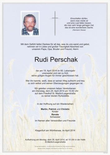Rudolf Perschak