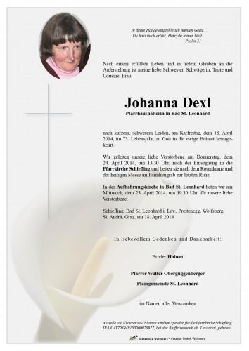 Johanna Dexl
