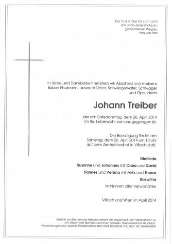 Johann Treiber