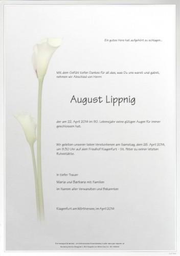 August Lippnig