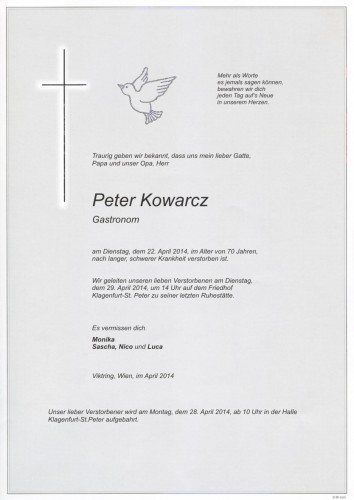 Peter Kowarcz
