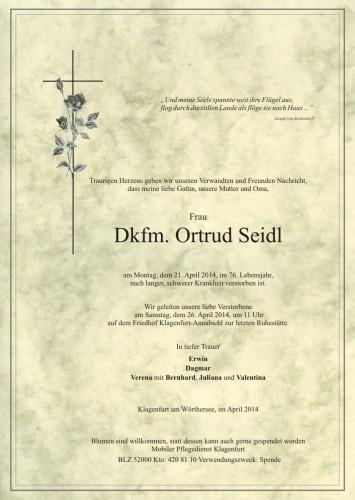 Dkfm. Ortrud Seidl