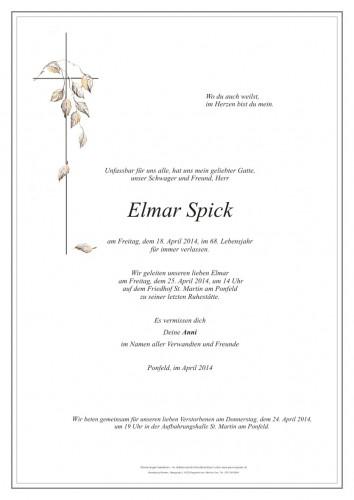 Elmar Spick