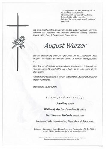 August Wurzer