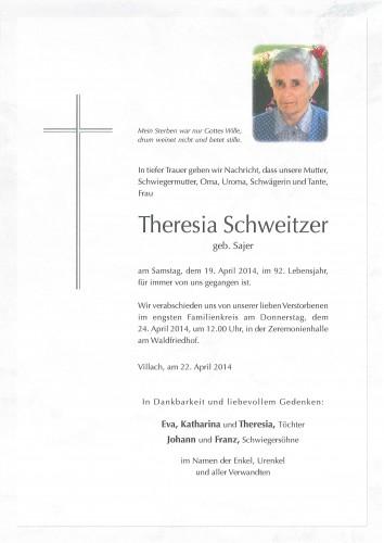 Theresia Schweitzer