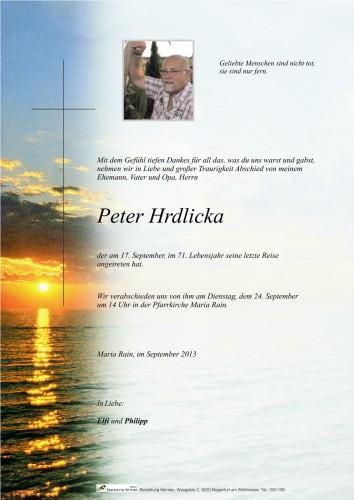 Peter Hrdlicka