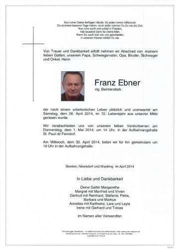 Franz Ebner