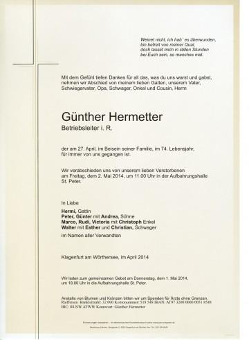 Günther Hermetter