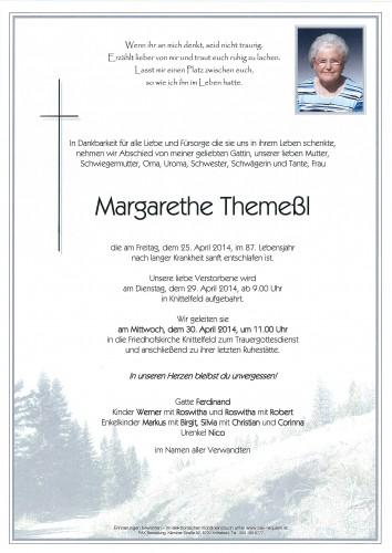 Margarethe Themeßl