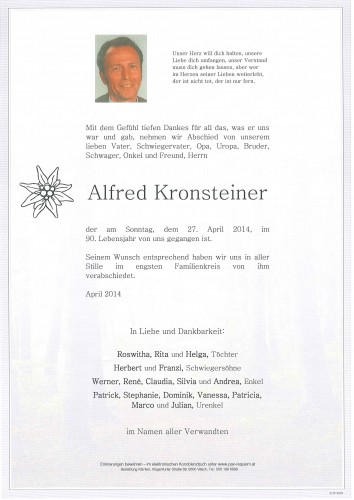 Alfred Kronsteiner