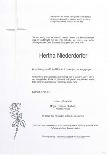 Hertha Niederdorfer