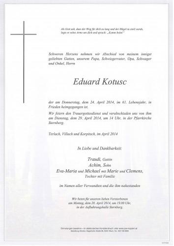 Eduard Kotusc