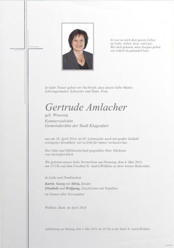 Gertrude Amlacher