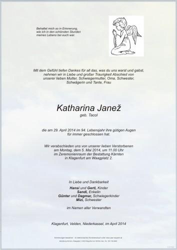 Katharina Janez