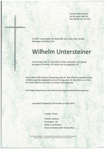 Wilhelm Untersteiner