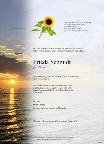 Frieda Schmidt