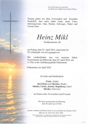 Heinrich Mikl