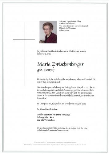 Maria Zwischenberger