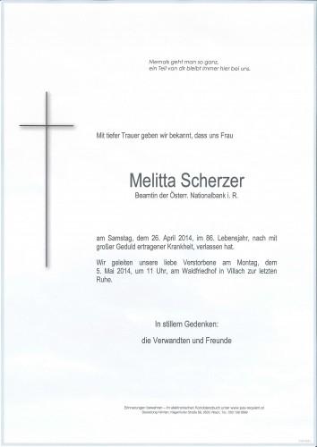 Melitta Scherzer