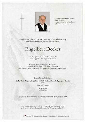 Engelbert Decker