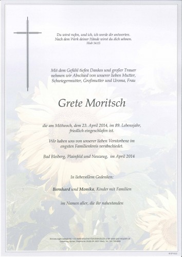 Margarethe Moritsch