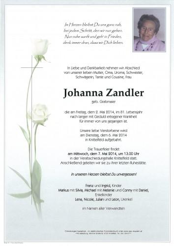 Johanna Zandler