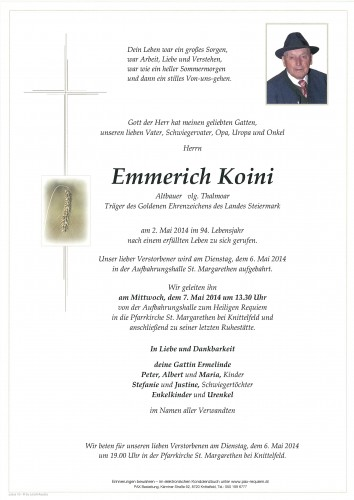 Emmerich Koini