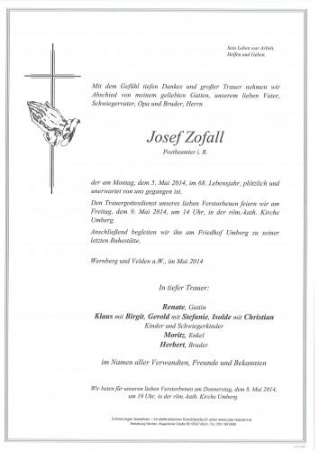 Josef Zofall