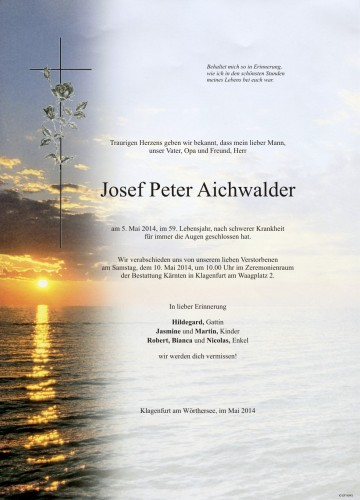 Josef Peter Aichwalder