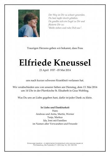 Elfriede Kneussel
