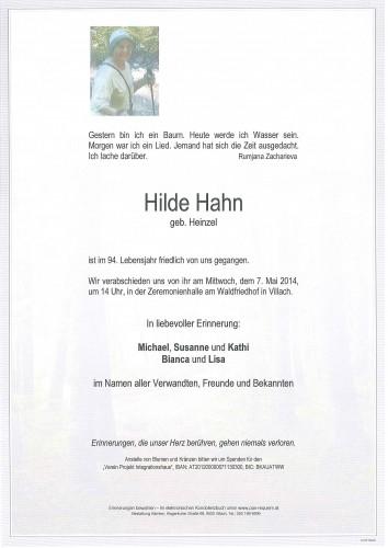 Hilde Hahn