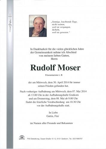Rudolf Moser