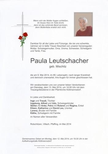 Paula Leutschacher