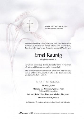 Ernst Raunig
