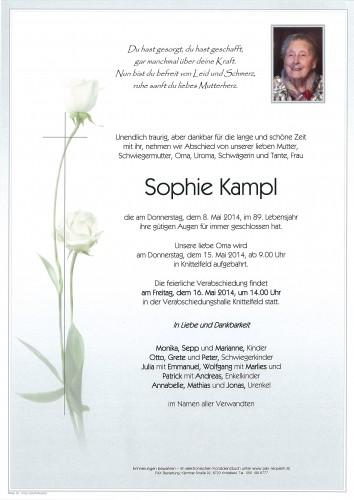 Sophie Kampl