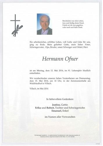 Hermann Ofner