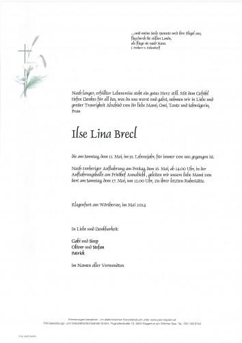 Ilse Lina Brecl