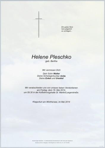 Helene Pleschko