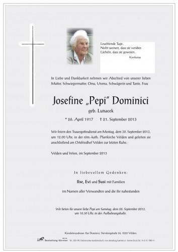 Josefine Dominici